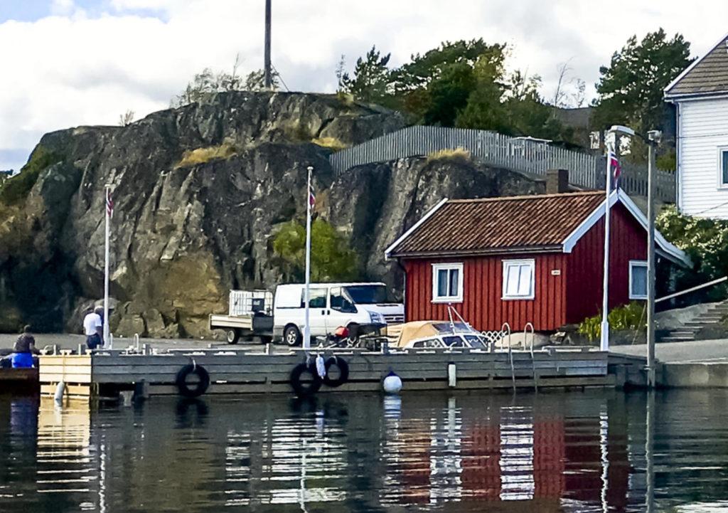 Sjøbua / portør Hytteutleie